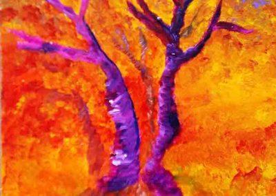 claire bauger coloriste arbre ete