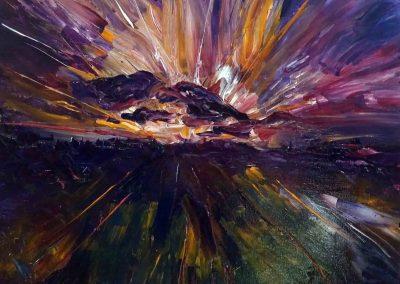 couteaux aurore boreale 50 x 50