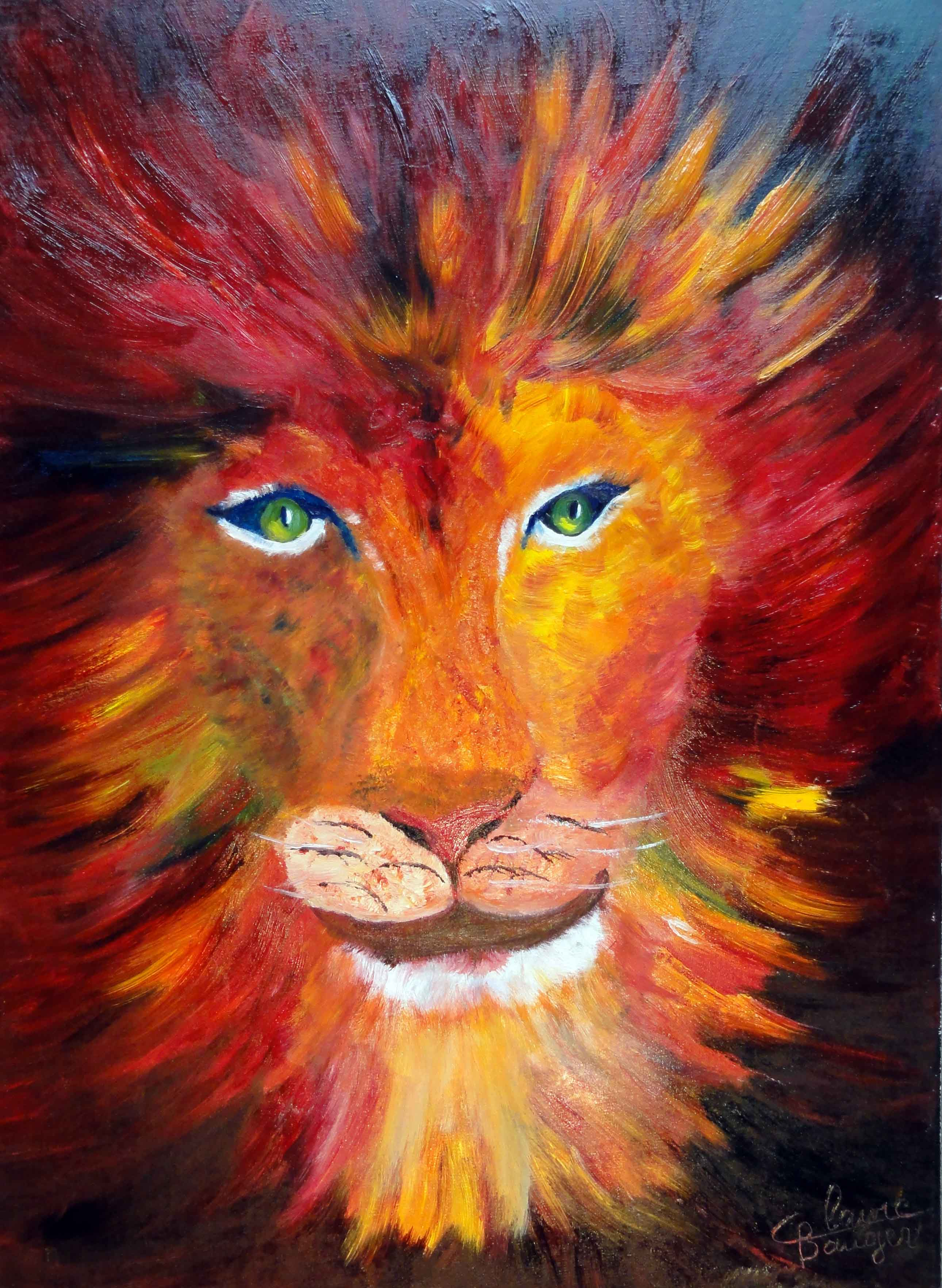 animaux colorés Claire Bauger coloriste