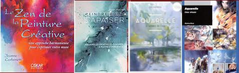 Claie Bauger Mes découvertes dans les livres sur l'aquarelle