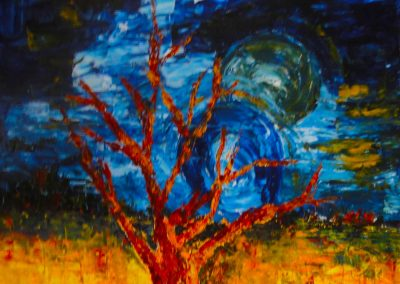 arbres et cercles